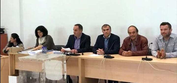 Ο Ηλίας Νταραράς νέος πρόεδρος του Δημοτικού Συμβουλίου Ιεράπετρας