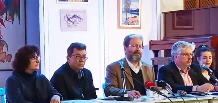 """παρουσίαση της Περιφερειακής Κίνησης """"Ξαστεριά! Ανατροπή στην Κρήτη"""""""