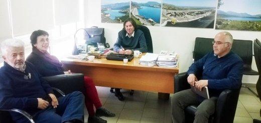 ο ΟΑΚ ενημέρωσε τη βουλευτή Βάλια Βαγιωνάκη