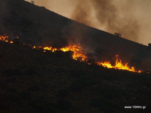Πολύ υψηλός κίνδυνος πυρκαγιάς κατηγορία 4  για Σάββατο 08 Ιουλίου 2017