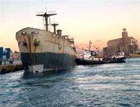 στο λιμάνι του Πειραιά