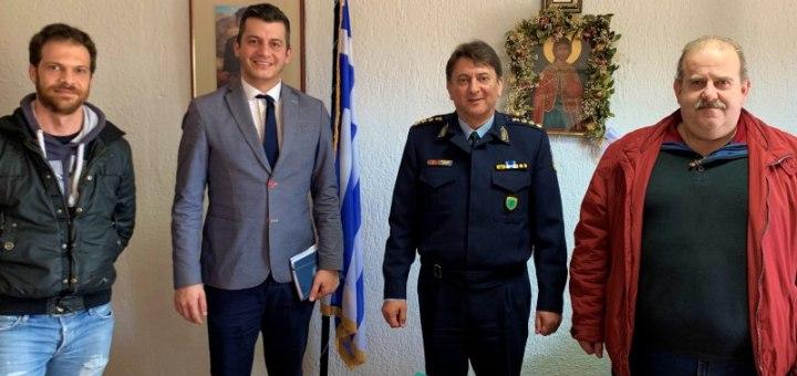 ΕΑΣΥΛ συνάντηση με τον Αστυνομικό Διευθυντή Λασιθίου