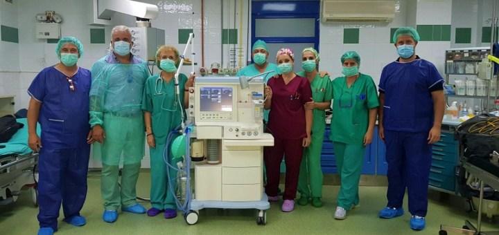 Παραλαβή δεύτερου αναισθησιολογικού μηχανήματος στο νοσοκομείο Ιεράπετρα