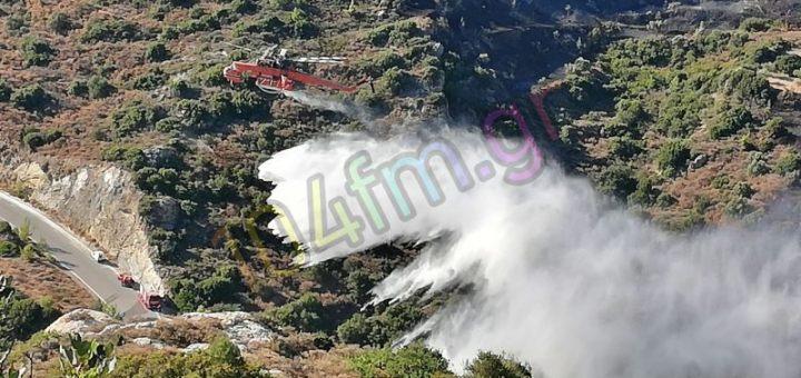 Χωρίς ενεργά πλέον μέτωπα η φωτιά σε Πρίνα - Μεσελέρους
