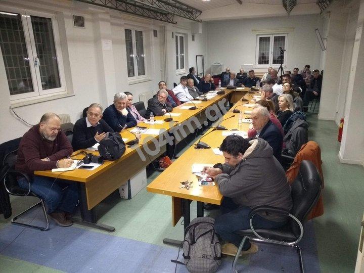 Δημοτικό Συμβούλιο Αγίου Νικολάου Τετάρτη 10-4-2019