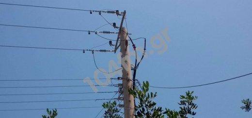 Διακοπή ηλεκτρικού ρεύματος στη πόλη του Αγίου Νικολάου