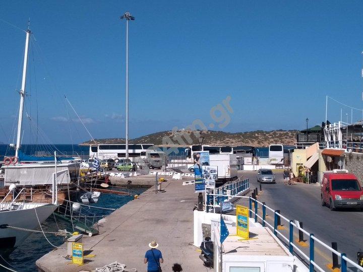 μείωση των τελών  στους χώρους της χερσαίας ζώνης Αγίου Νικολάου