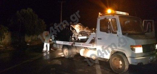 Σοβαρό τροχαίο ατύχημα στην Ιεράπετρα