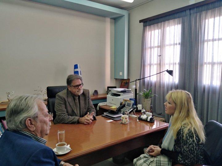 Συνάντηση με την Γενική Πρόξενο της Εσθονίας είχε ο Δήμαρχος Αγίου Νικολάου