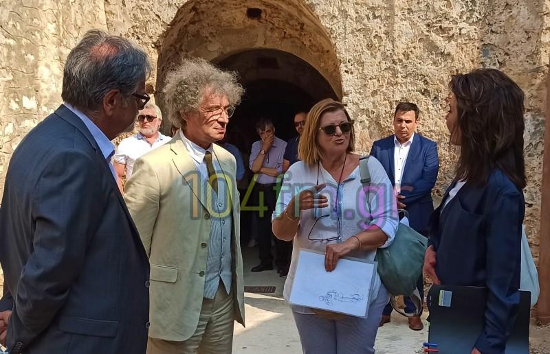 Η πρόεδρος του Ελλάδα 2021 Γιάννα Αγγελοπούλου στη Σπιναλόγκα
