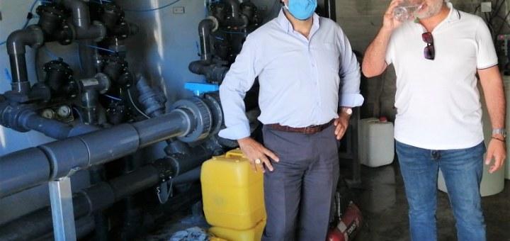 Τέθηκε σε λειτουργία το κεντρικό διυλιστήριο ύδρευσης του δήμου οροπεδίου Λασιθίου
