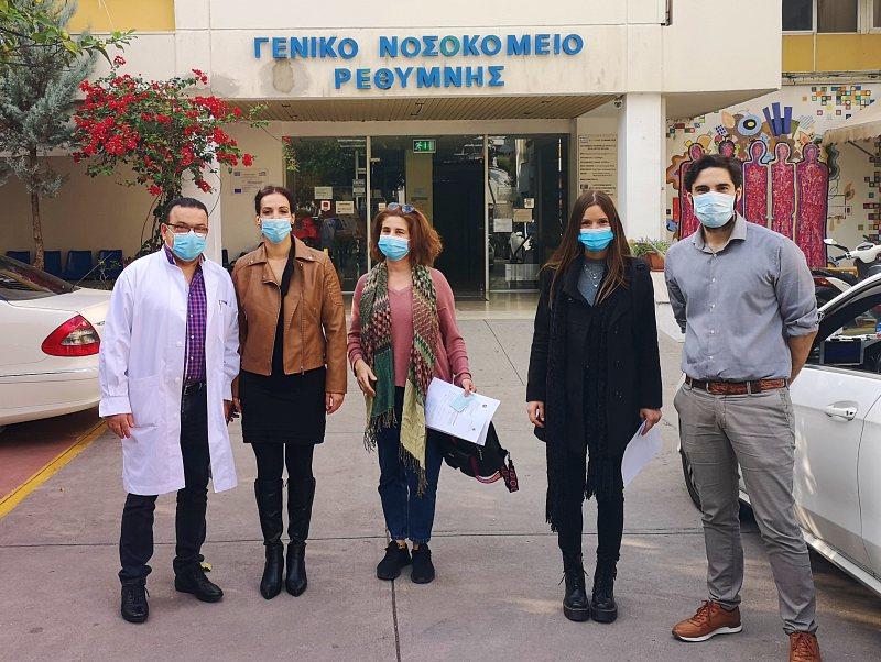 Οι εθελόντριες νοσηλεύτριες επέστρεψαν στην Κρήτη