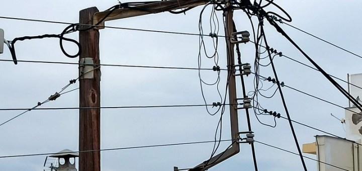 Διακοπή ρεύματος από Καστέλι μέχρι Φανερωμένη
