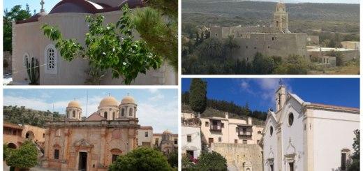 Απευθείας μεταδόσεις των Ιερών Ακολουθιών από τέσσερα ιστορικά μοναστήρια της Κρήτης
