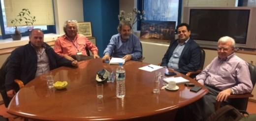 Σύσκεψη για την αφαλάτωση στο Υπουργείο Εμπορικής Ναυτιλίας