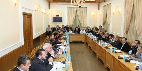 Περιφέρεια Κρήτης σύσκεψη