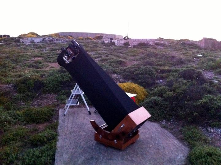 το τηλεσκόπιο του Anton