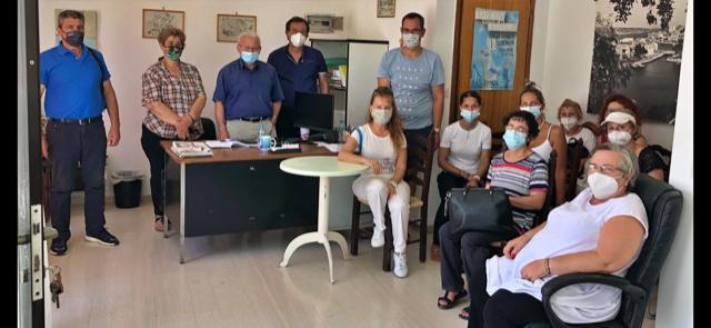 Συνάντηση Θραψανιώτη με εργαζόμενους ΕΣΠΑ παιδικών Σταθμών