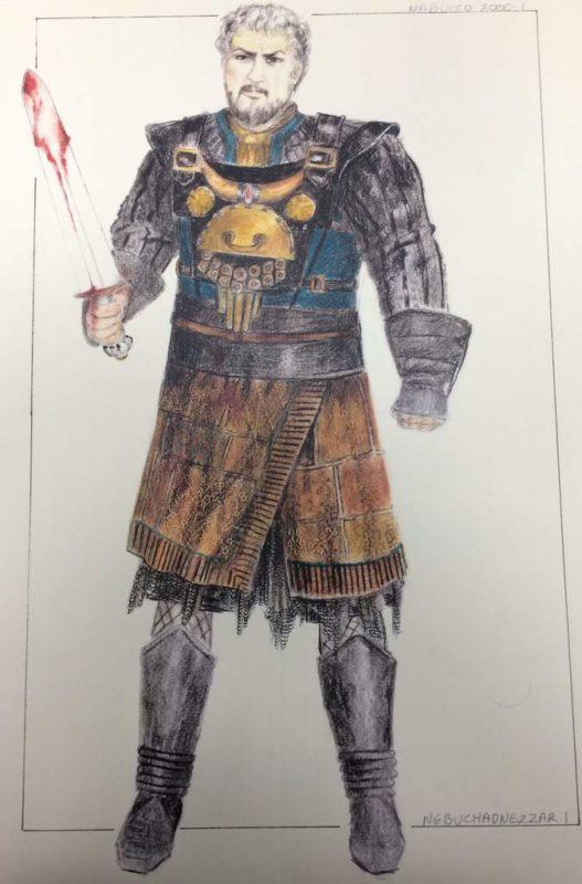 η Ανδριανή Νεοφύτου και τα κοστούμια του Nabucco