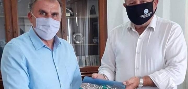 Συνάντηση αντιπεριφερειάρχη Λασιθίου με δήμαρχο Ιεράπετρας