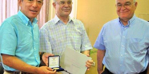 Ιάπωνας πρέσβης δήμαρχος Αγίου Νικολάου