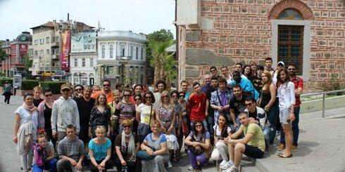 μαθητές του προγράμματος Leonardo da Vinci