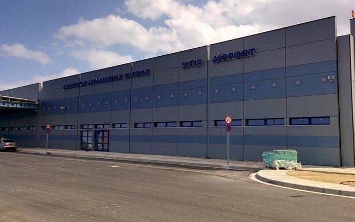 το νέο κτίριο αφίξεων και αναχωρήσεων του αεροδρομίου