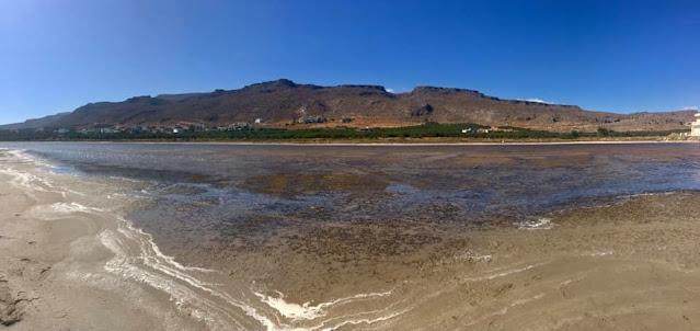 Πεζοπορία Χαμαίτουλο, φαράγγι Ξηρόκαμπου, παραλία Κρινάκια, Αλατσολίμνη
