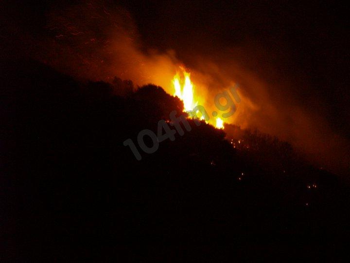 Φωτιές σε όλη τη χώρα και ακόμα δεν σφίξανε οι ζέστες