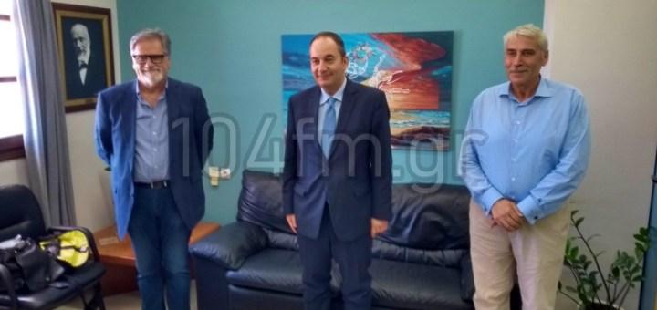 ο Υπουργός Ναυτιλίας στον Δήμο Αγίου Νικολάου
