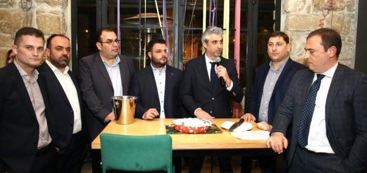 κοπή της πρωτοχρονιάτικης πίτας του Οικονομικού Επιμελητηρίου Ελλάδας Τμήματος Ανατολικής Κρήτης