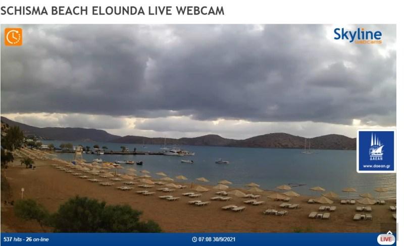 Τοποθέτηση & Ενεργοποίηση LIVE WEBCAMS σε Παραλίες του Αγίου Νικολάου μέσω του SkylineWebcams