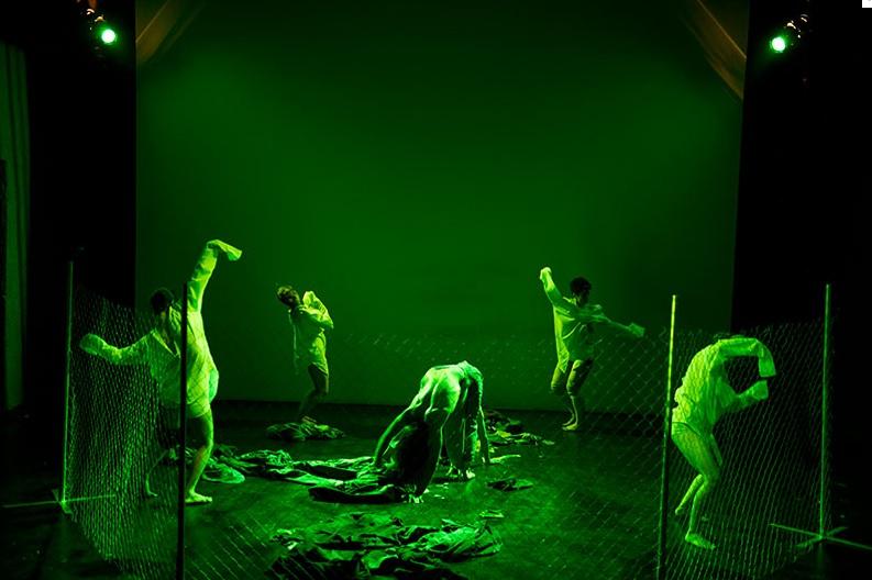 Χοροθέατρο Ακροποδητί, Sebastian