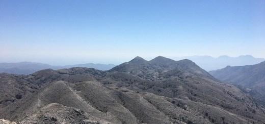 Διάσχιση ανατολικής οροσειράς Σελένας - Μαχαιράς