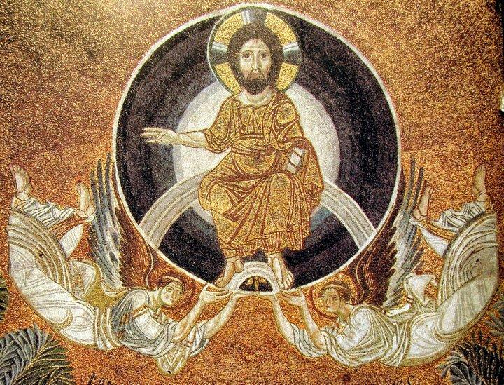 Βυζαντινά ψηφιδωτά στην Ελλάδα, μορφές αγίων