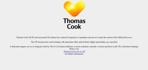 Χρεωκοπία Thomas Cook, επιπτώσεις