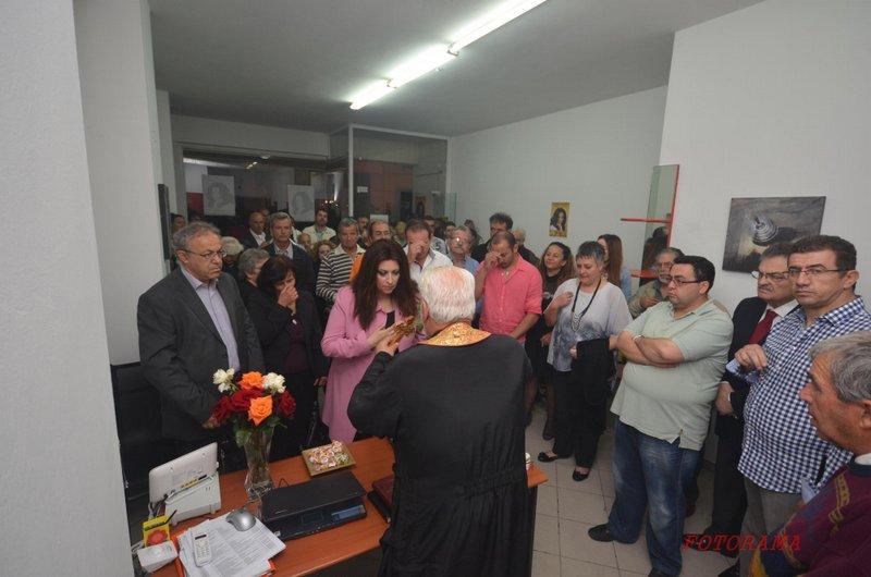 Ενωμένη Ιεράπετρα, εγκαίνια εκλογικού κέντρου