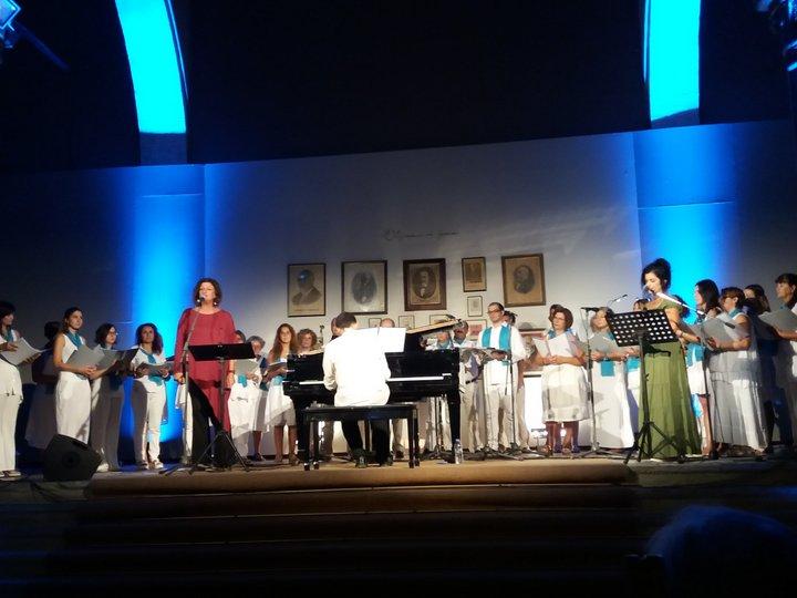 Η χορωδία ΠΑΟΔΑΝ στη Βασιλική Αγ. Μάρκου