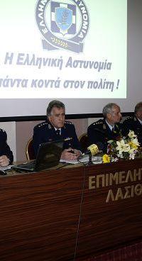 οι διοικούντες την Αστυνομική Διεύθυνση Λασιθίου