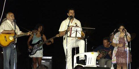 από τη συναυλία στη λίμνη Αγίου Νικολάου