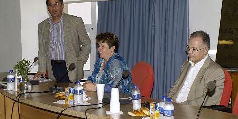 από αριστερά, Χατζηλοΐζου, Γιαννικάκη, Κουνενάκης