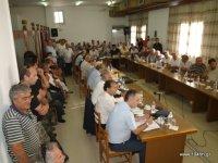 γεμάτη η αίθουσα του δημοτικού  συμβουλίου Ιεράπετρας, με θυμωμένους πολίτες