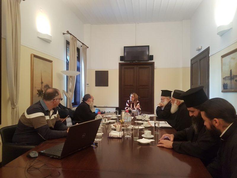 Συνάντηση για ζητήματα που αφορούν την Εκκλησία της Κρήτης