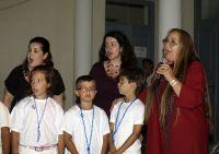 η Μαρίζα Κωχ, με τις συνεργάτιδες της