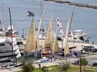 Τα σκάφη στη μαρίνα Αγίου Νικολάου
