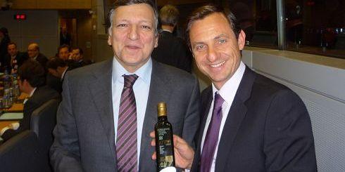 Ο κ. Μπαρόζο με τον κ. Χατζημαρκάκη