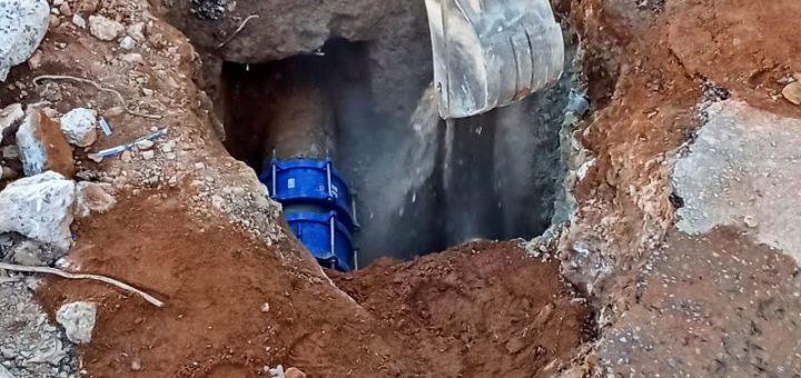 Πολύωρη διακοπή υδροδότησης της πόλης του Αγίου Νικολάου