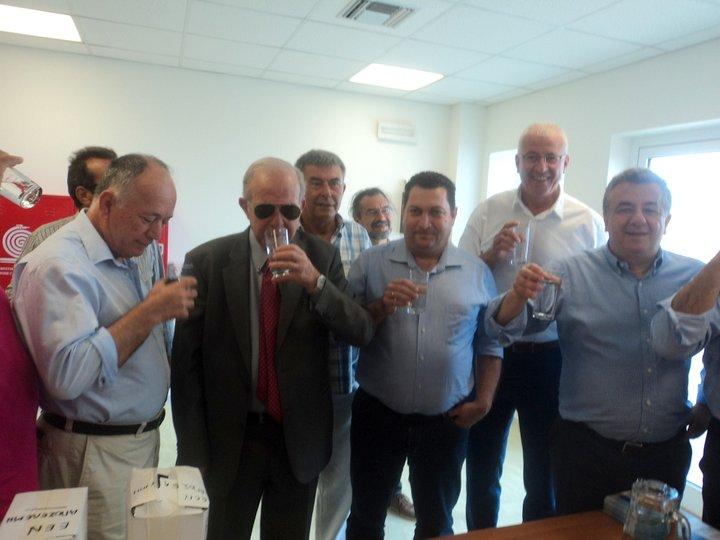 Λουλουδάκης, Λαμπρινός, Μαστοράκης, Αρναουτάκης, δοκιμάζουν το νερό ....