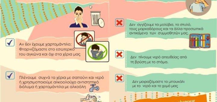 Ενημερωτικό πρόγραμμα για γρίπη και κρυολόγημα στην Ιεράπετρα