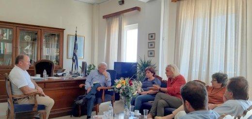 ΒΟΑΚ, Μουσικό Γυμνάσιο, υδάτινοι πόροι στη συνάντηση Γουλιδάκη - Θραψανιώτη